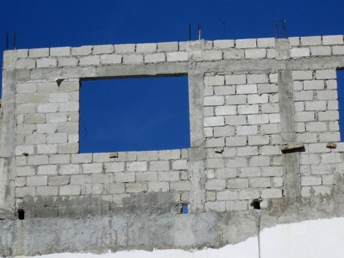 Building under construction in Puerto Vallarta