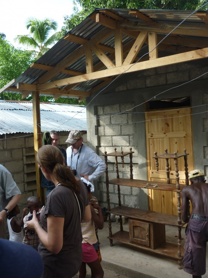 finished house in Haiti a