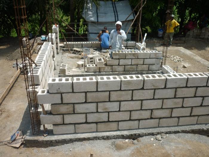 training buidling site Haiti