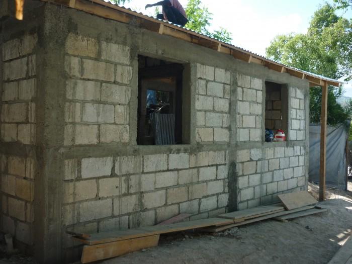 training house in Haiti b